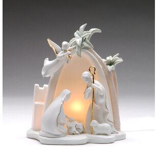 Cosmos Gifts Bethlehem Holy Family Night Light