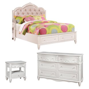 whitney platform configurable bedroom set - Bedroom Sets For Girls