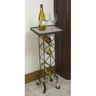 4 Bottle Floor Wine Rack by J & J Wire