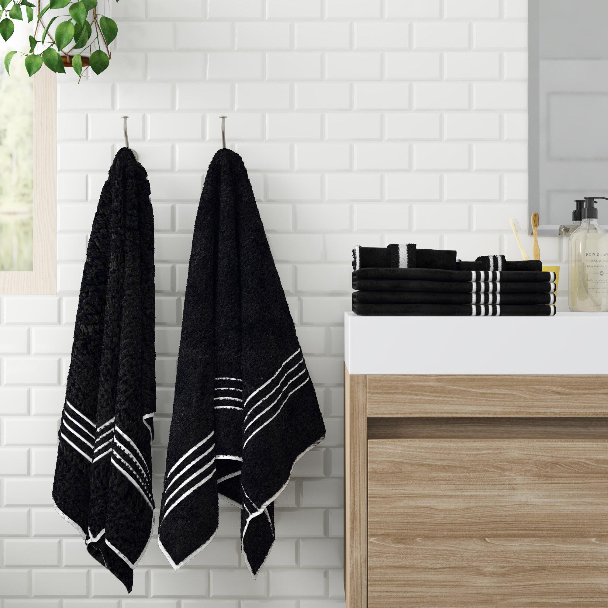 Bremen 8 Piece Egyptian Quality Cotton Towel Set
