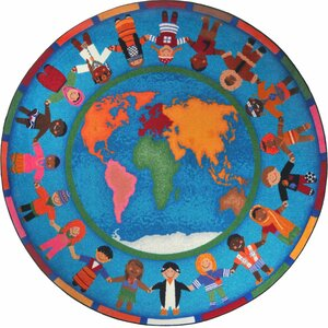 Hands Around the World Area Rug