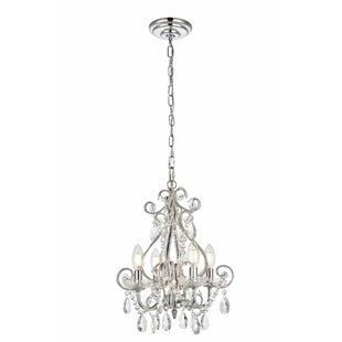 Burcott 4-Light Candle Style Chandelier