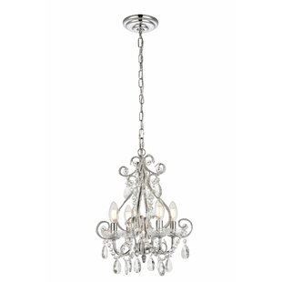 Mini or small chandeliers youll love burcott 4 light mini chandelier aloadofball Choice Image