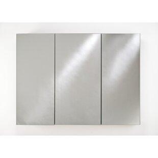 Savings Twitty 48 x 30 Recessed Frameless Medicine Cabinet with Adjustable Shelves ByOrren Ellis