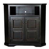 Wentzel Solid Wood Corner TV Stand for TVs up to 43 by Red Barrel Studio®