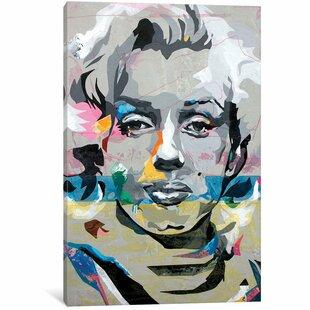 U0027Marilyn Monroeu0027 Painting Print On Canvas