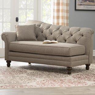 Wheatfield Serta Chaise Lounge by Three Posts