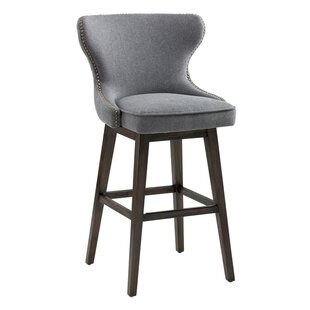 Sunpan Modern Ariana Swivel Bar Stool