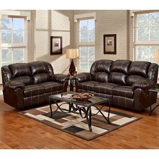 Roundhill Furniture Aruba Reclining 2 Piece Living Room Set