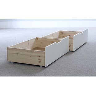 Andres Underbed Storage Drawer (Set Of 2) By Harriet Bee