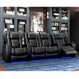 Continental HR Series Home Theater Loveseat (Row of 4)