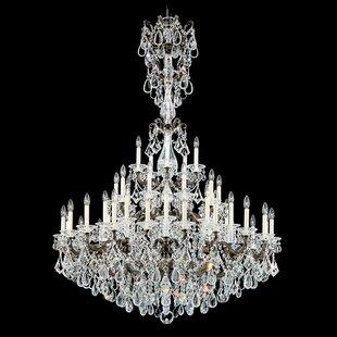 La Scala 45-Light Chandelier by Schonbek