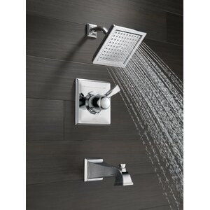 Dryden Volume Control Tub and Shower Faucet Lever with Monitor