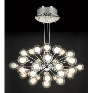 Orren Ellis Meade 37-Light Sputnik Chandelier