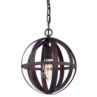 Petrina 1-Light Globe Pendant by 17 Stories
