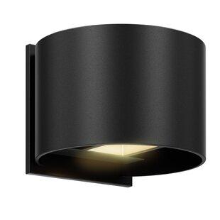 Orren Ellis Natascha Directional 2-Light LED Outdoor Flush Mount