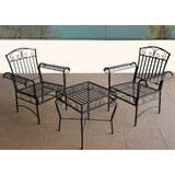 Jerrie 3 Piece Bistro Set