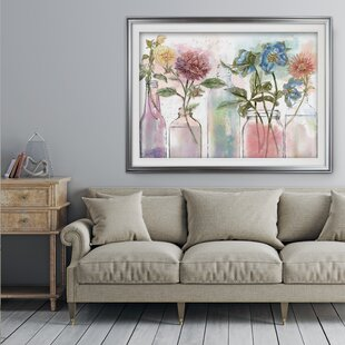 Ingredients for Life Ditzy Floral II Giclee Stretched Canvas Artwork 24 x 32 Global Gallery Mary Urban