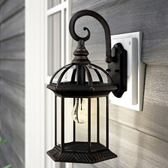 Copper Outdoor Wall Lighting Free Shipping Over 35 Wayfair