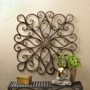 Copper Rustic Iron Wall Décor