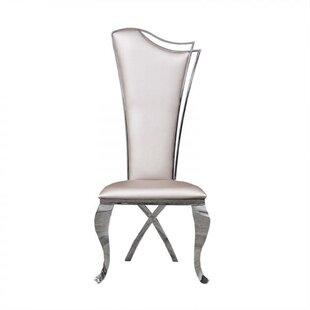 Frampton Cotterell Upholstered Dining Chair (Set of 2) Everly Quinn