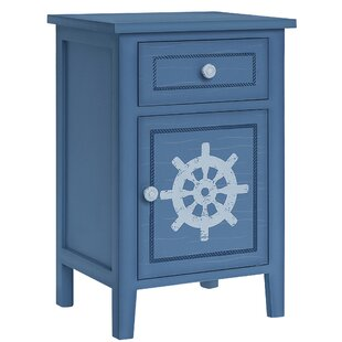 Perez 1 Door Accent Cabinet by Breakwater Bay