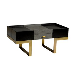 Lawson Coffee Table with Tray Top and Storage