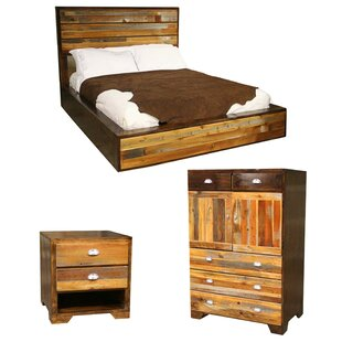 Urban Rustic Platform Configurable Bedroom Set