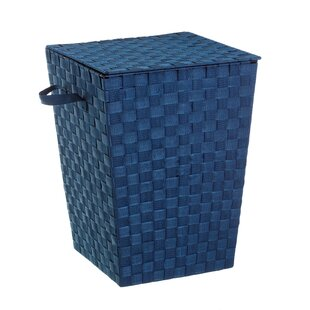 Laundry Bin With Cover By August Grove