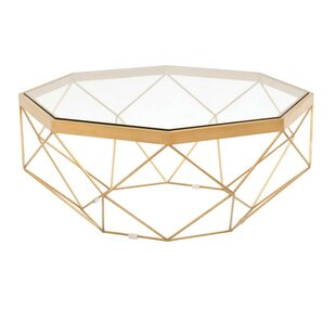 Best RosaRio Metal Frame Coffee Table by Everly Quinn Reviews (2019) & Buyer's Guide