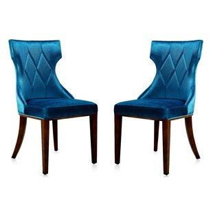 wholesale dealer 29ab3 9da5f Indigo Blue Dining Chairs | Wayfair