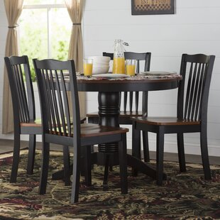 Tighe 5 Piece Dining Set by August Grove Discount