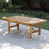 Ballidon Folding Wooden Coffee Table