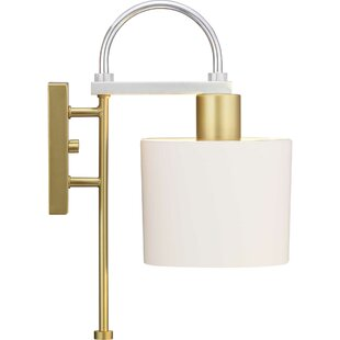 Mireille 1-Light Armed Sconce by Mercer41