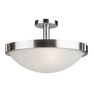 Passabe Semi Flush Mount by Latitude Run