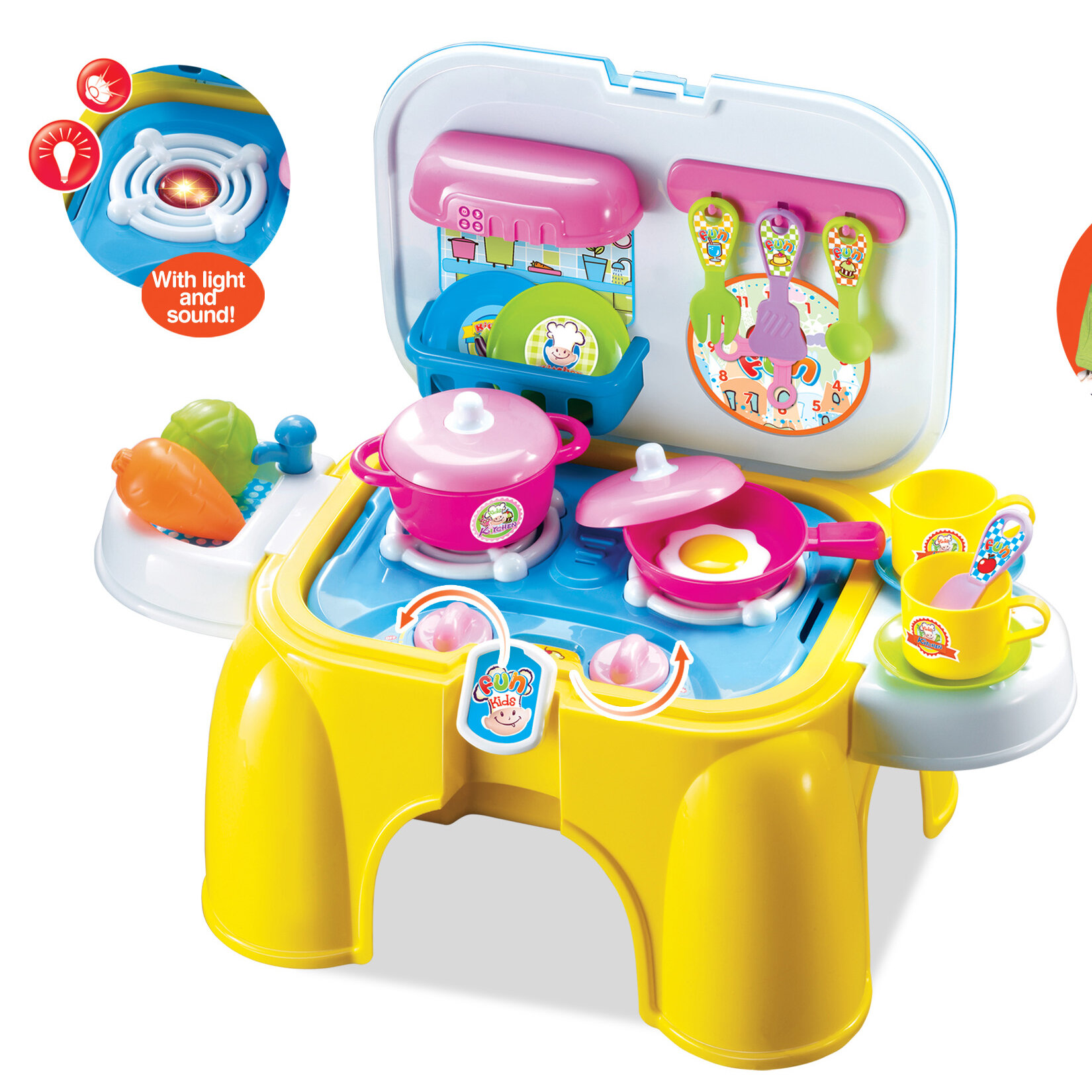 Berry Toys My First Portable and Carry Kitchen Play Set & Reviews