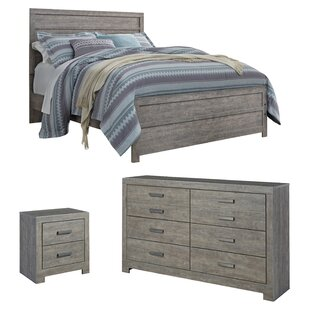 Rosen Panel 3 piece Configurable Bedroom Set by Beachcrest Home