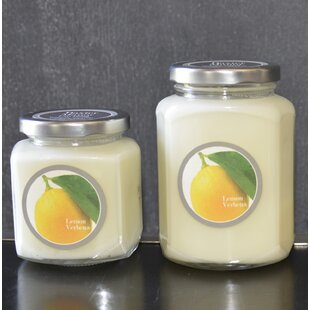 Artisan Lemon Verbena Jar Candle