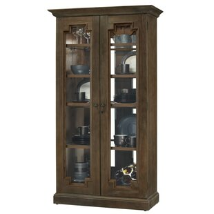 Darby Home Co Bretz Lighted Curio Cabinet