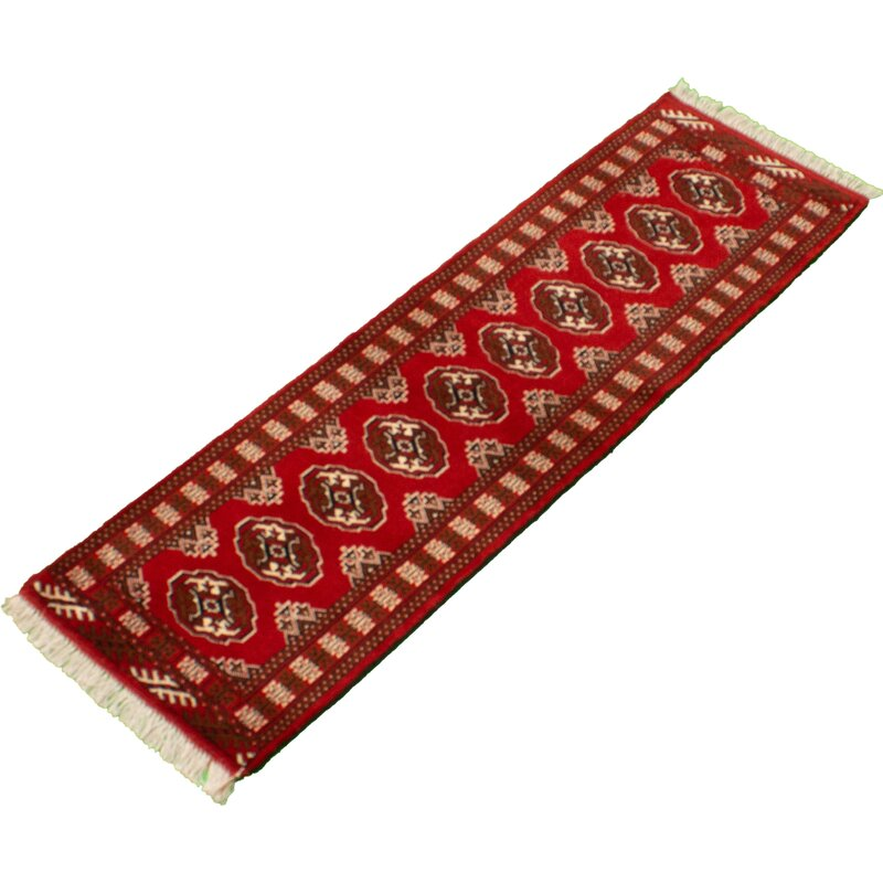 Bloomsbury Market Afruza Hand Knotted Wool Red Beige Rug Wayfair