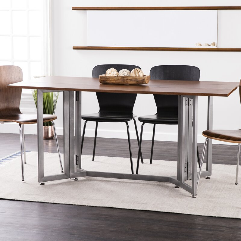 Eleanora Drop Leaf Console To Dining Table