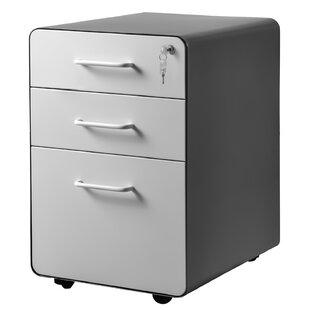 Jaworski 3 Drawer Filling Cabinet By Symple Stuff