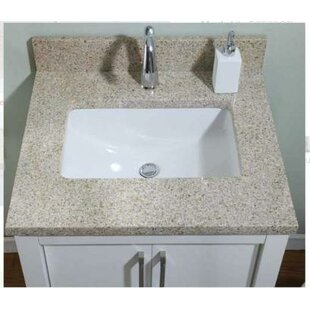Euro Granite Single Bathroom Vanity Top By Empire Industries