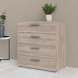 Hungerford 4 Drawer Chest by Wade Logan®