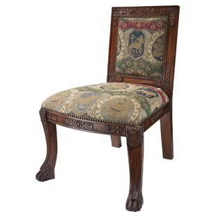 Design Toscano Beardsley Heraldic Lion Chair Side Chair
