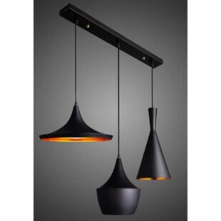 Candelario 3 Light Cluster Pendant by George Oliver