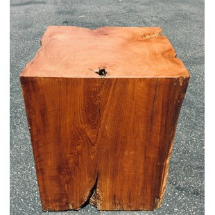 Ardrie Teak Accent Stool by Bloomsbury Market