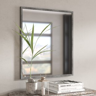 Find Kaylie Minimal Wall Accent Mirror By 17 Stories