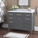 Arminta 42 Single Bathroom Vanity Set by Charlton Home