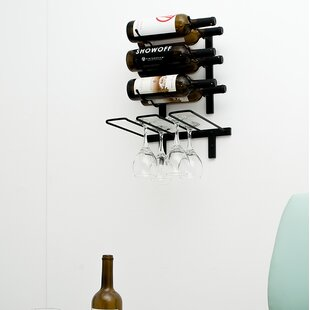 Wall Mounted Wine Glass Rack by VintageView